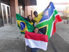 Brazil, Indonesia and South Africa!!
