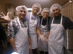 Having a good time while helping the less fortunate!