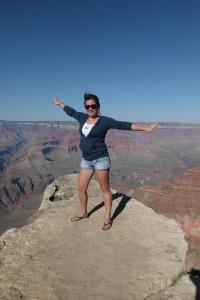 Enjoying winter break at the Grand Canyon