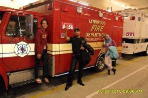 Lynnwood University - Fire Truck