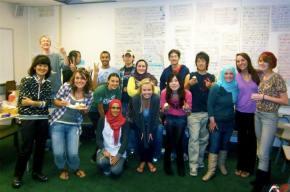 Kaysha: Surrounding myself with an internationalcommunity