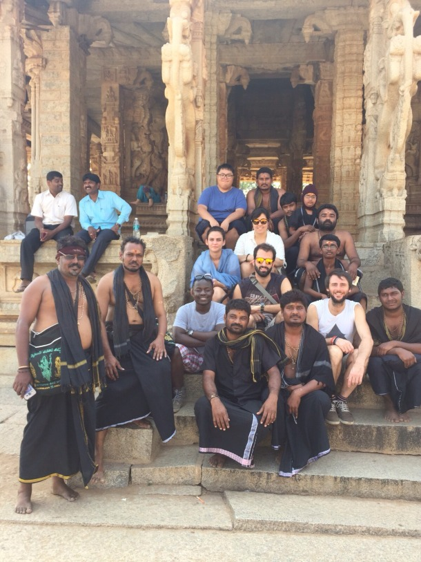 Spending time and learning with the Hindu priests2